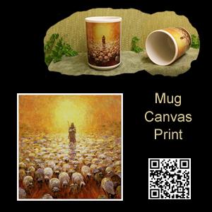 Christian Art Mug Canvas